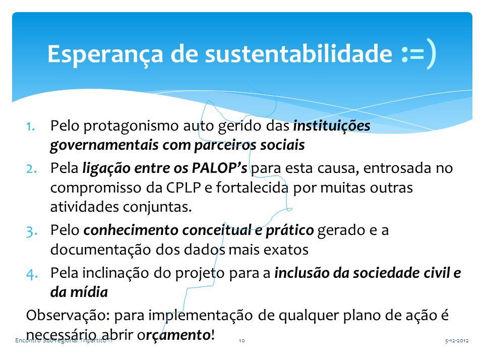 Esperança de sustentabilidade :=)