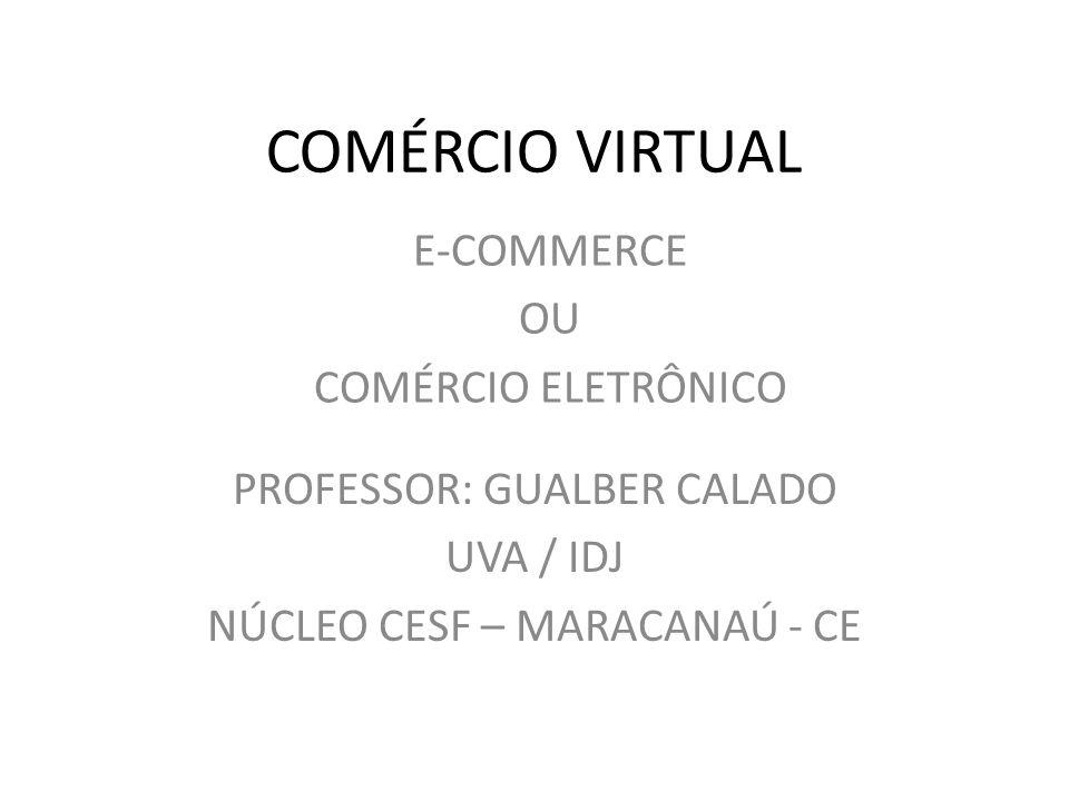 PROFESSOR: GUALBER CALADO UVA / IDJ NÚCLEO CESF – MARACANAÚ - CE