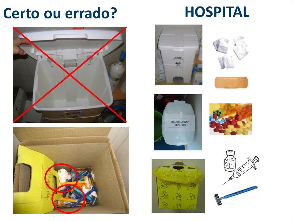 Certo ou errado HOSPITAL
