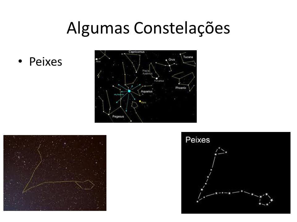 Algumas Constelações Peixes