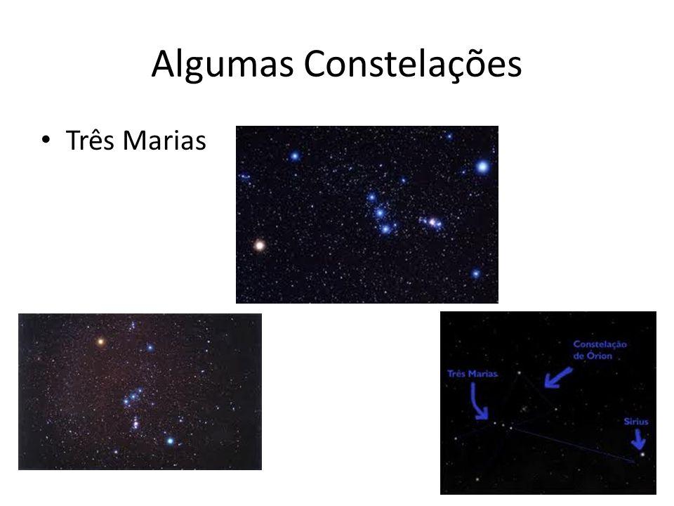 Algumas Constelações Três Marias