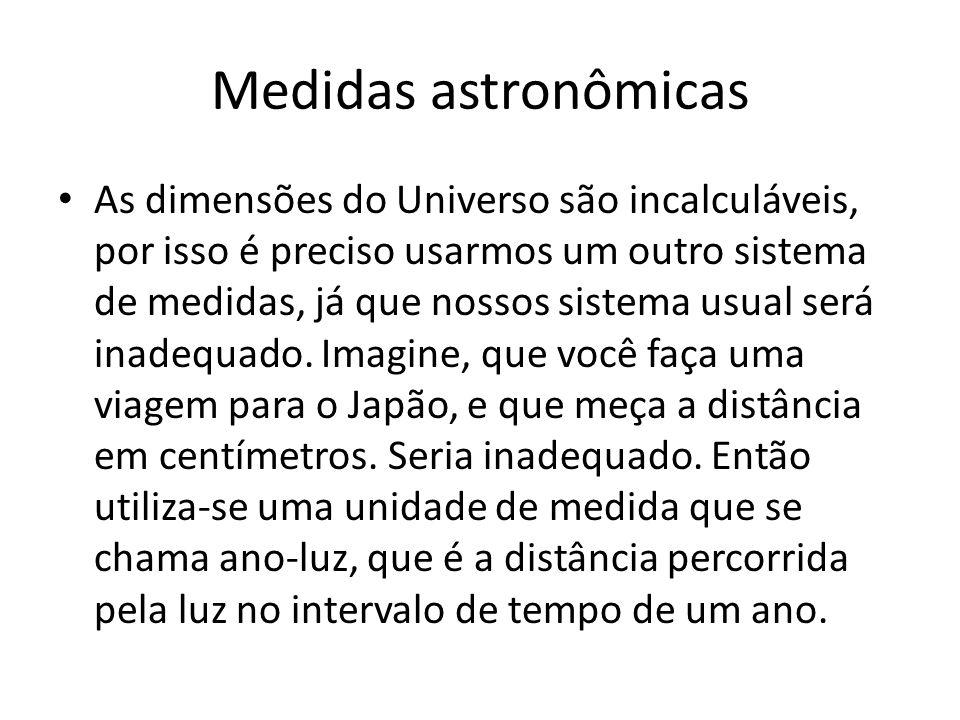 Medidas astronômicas
