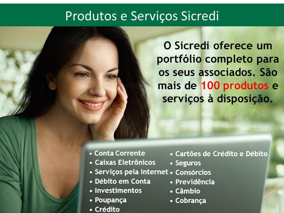 Produtos e Serviços Sicredi