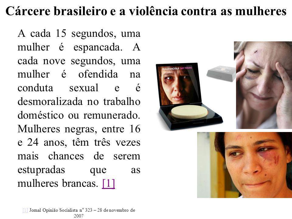 Cárcere brasileiro e a violência contra as mulheres