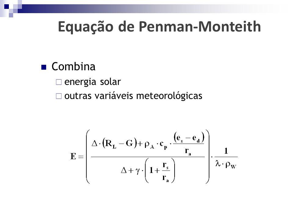 Equação de Penman-Monteith