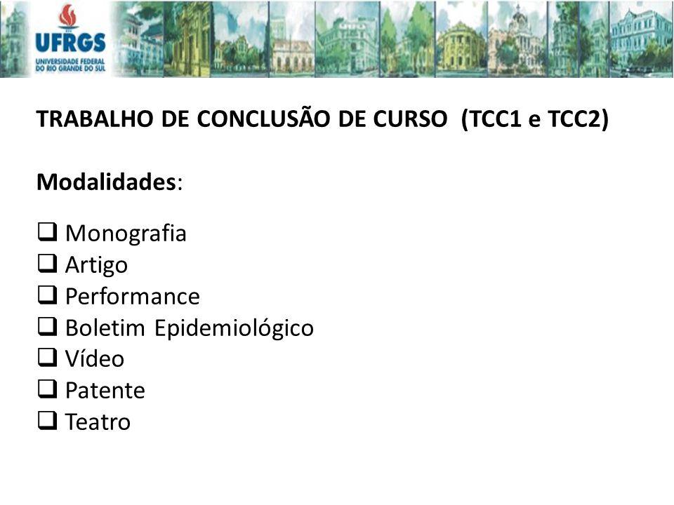 TRABALHO DE CONCLUSÃO DE CURSO (TCC1 e TCC2)