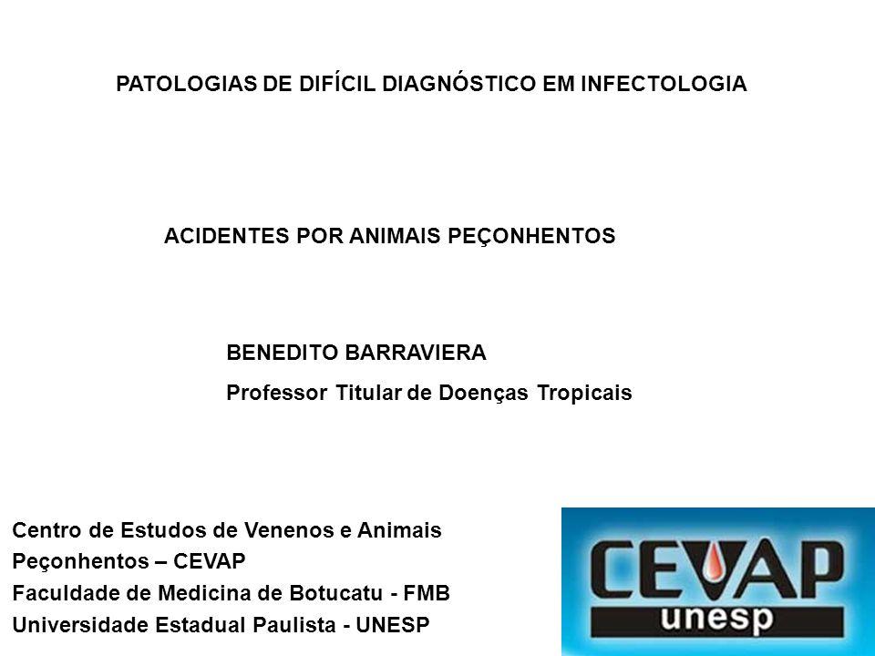 PATOLOGIAS DE DIFÍCIL DIAGNÓSTICO EM INFECTOLOGIA