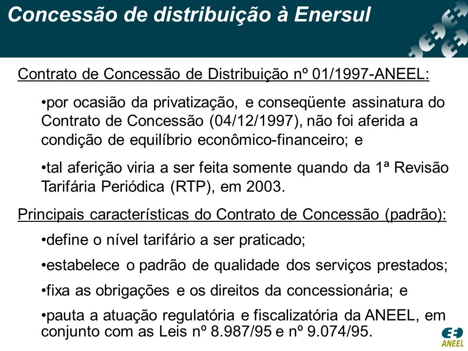 Concessão de distribuição à Enersul