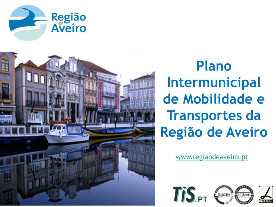 Plano Intermunicipal de Mobilidade e Transportes da Região de Aveiro