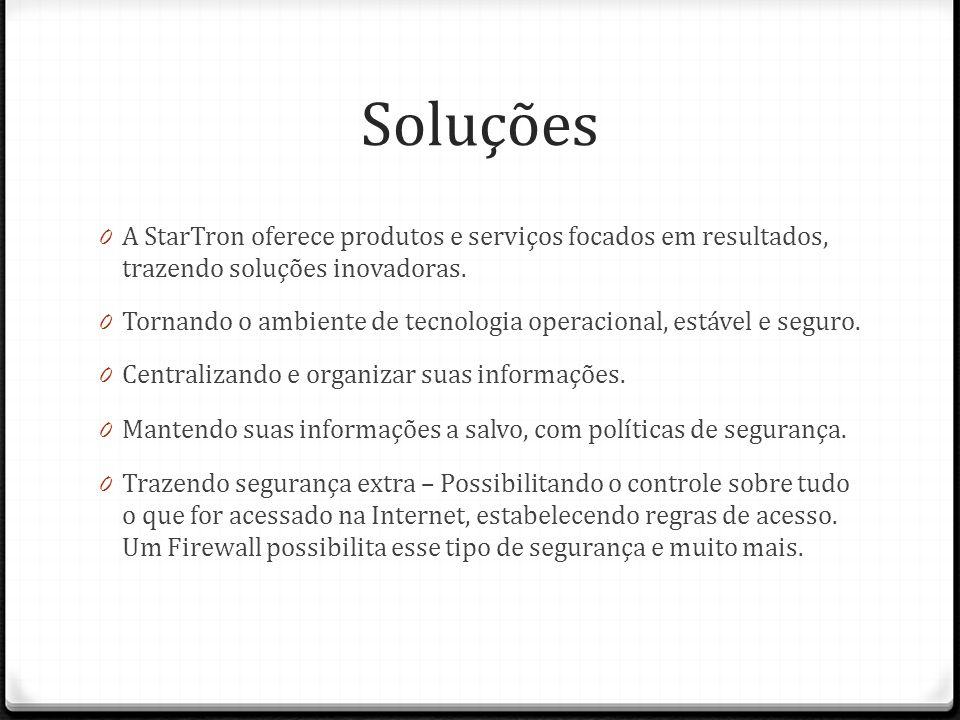 Soluções A StarTron oferece produtos e serviços focados em resultados, trazendo soluções inovadoras.