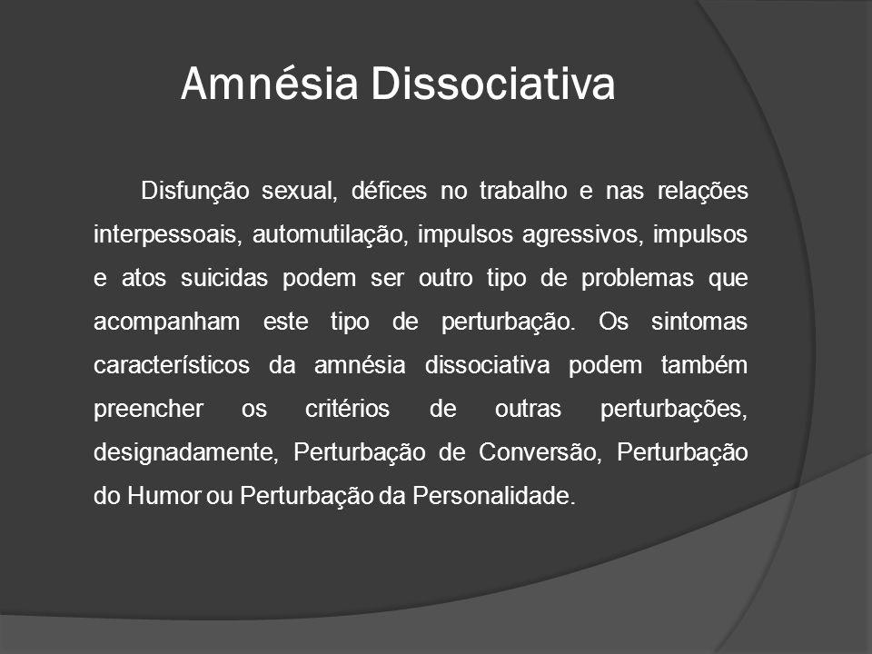Amnésia Dissociativa