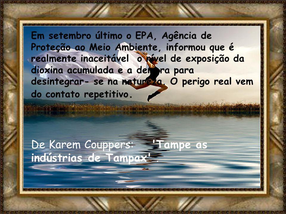 De Karem Couppers: Tampe as indústrias de Tampax .