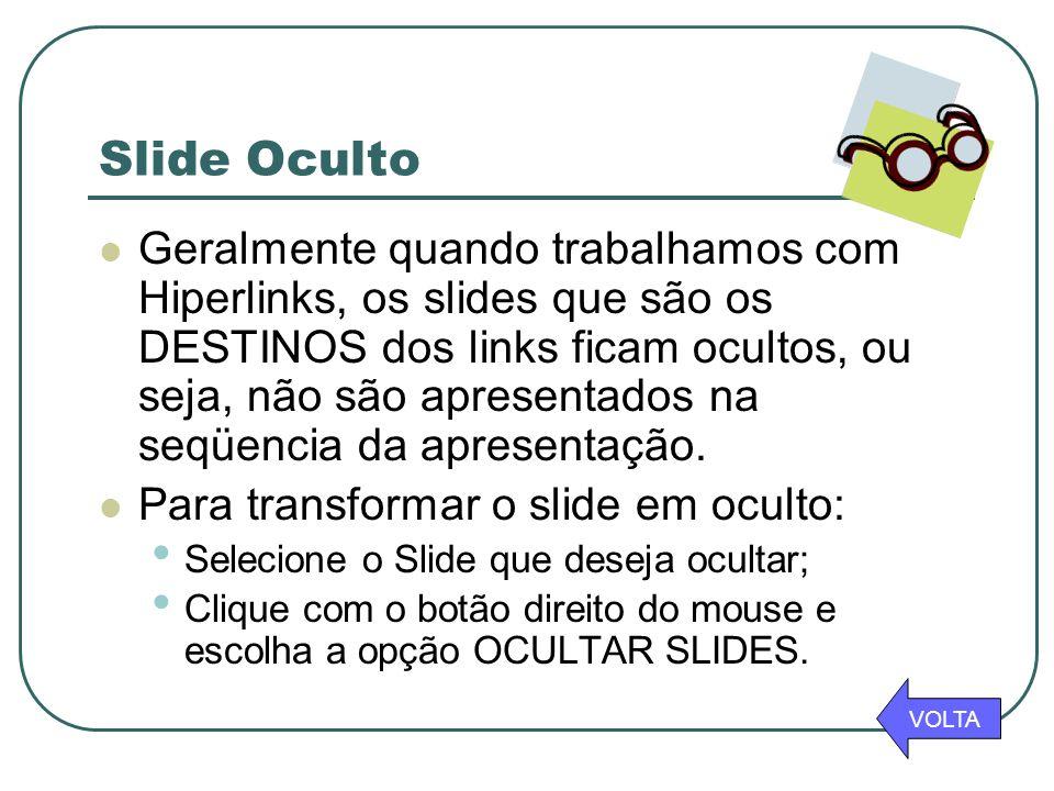 Slide Oculto