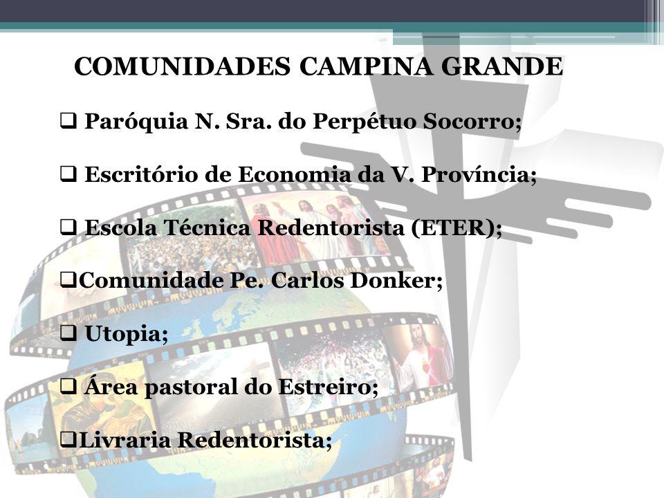 COMUNIDADES CAMPINA GRANDE