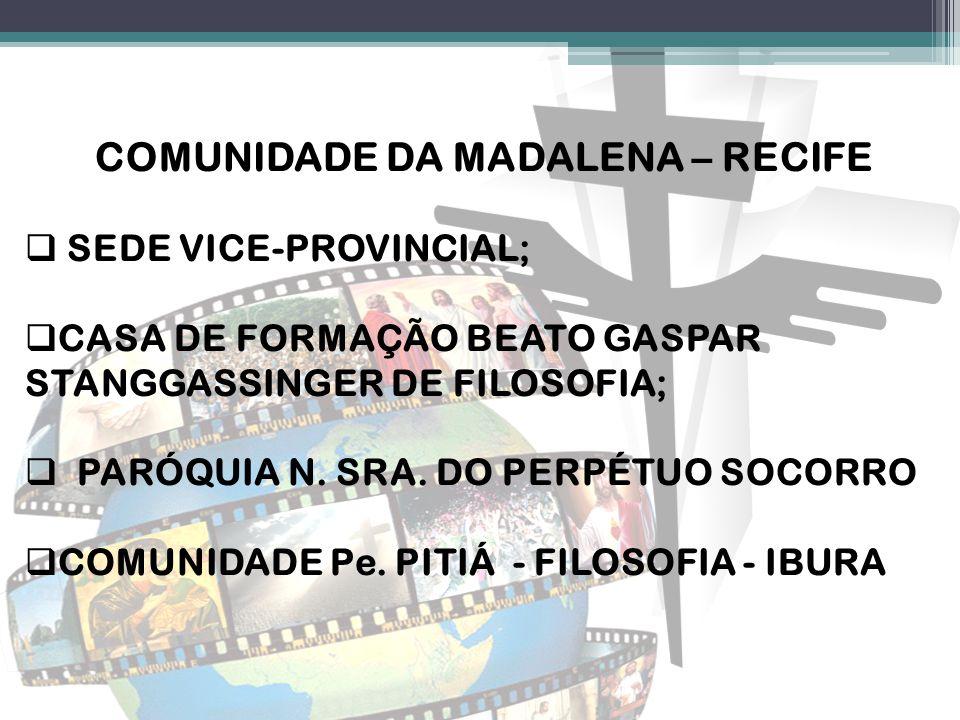 Comunidade da Madalena – Recife