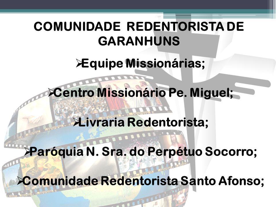COMUNIDADE REDENTORISTA DE GARANHUNS