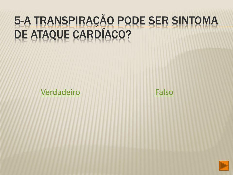 5-A transpiração pode ser sintoma de ataque cardíaco