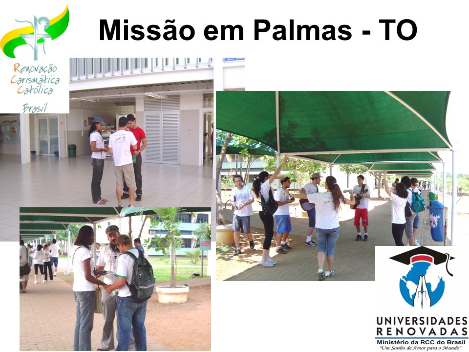 Missão em Palmas - TO