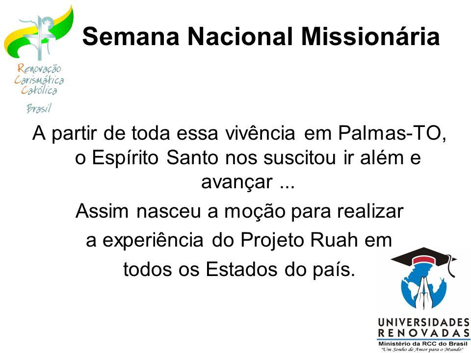 Semana Nacional Missionária