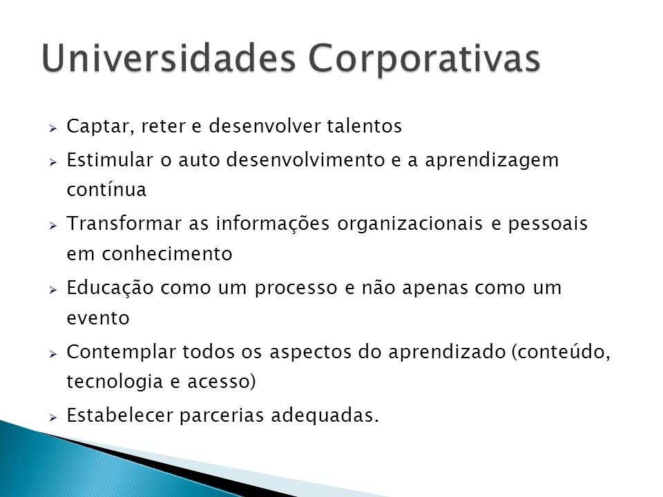Universidades Corporativas