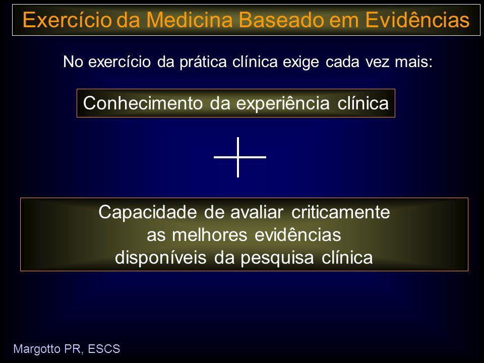 No exercício da prática clínica exige cada vez mais: