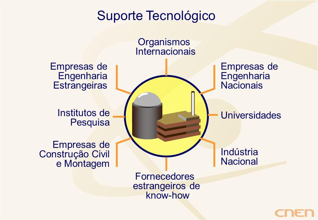 Suporte Tecnológico Organismos Internacionais Empresas de Engenharia