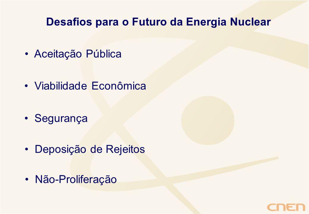 Desafios para o Futuro da Energia Nuclear