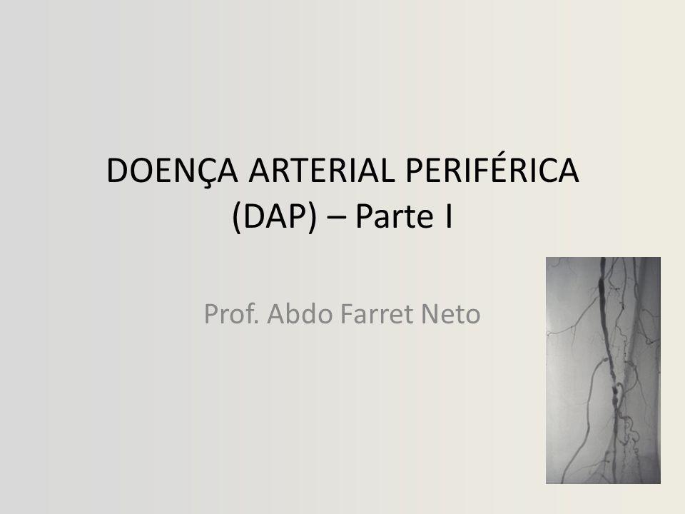 DOENÇA ARTERIAL PERIFÉRICA (DAP) – Parte I