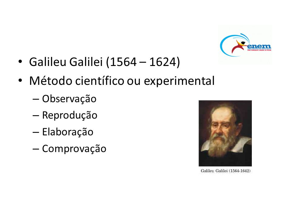 Método científico ou experimental