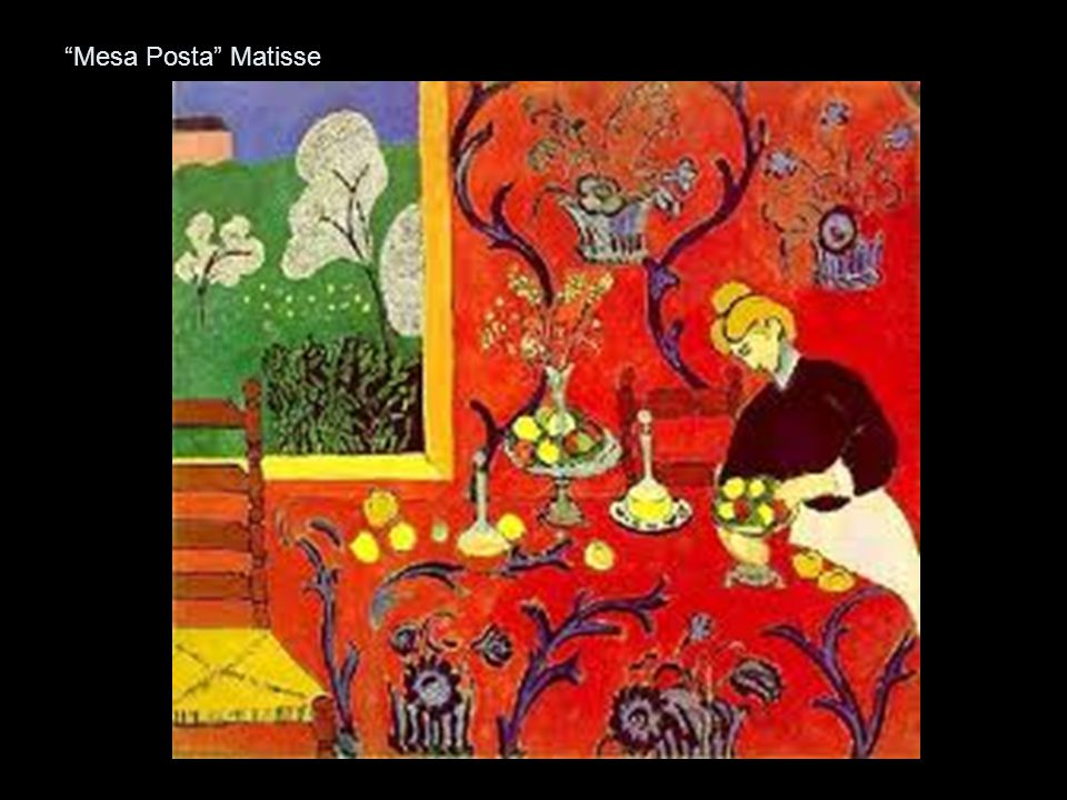 Mesa Posta Matisse