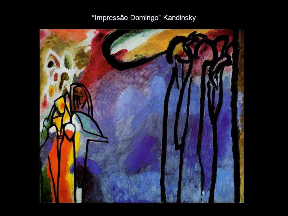 Impressão Domingo Kandinsky
