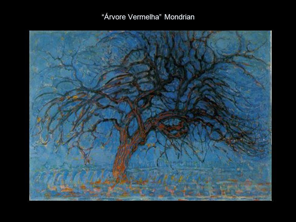 Árvore Vermelha Mondrian