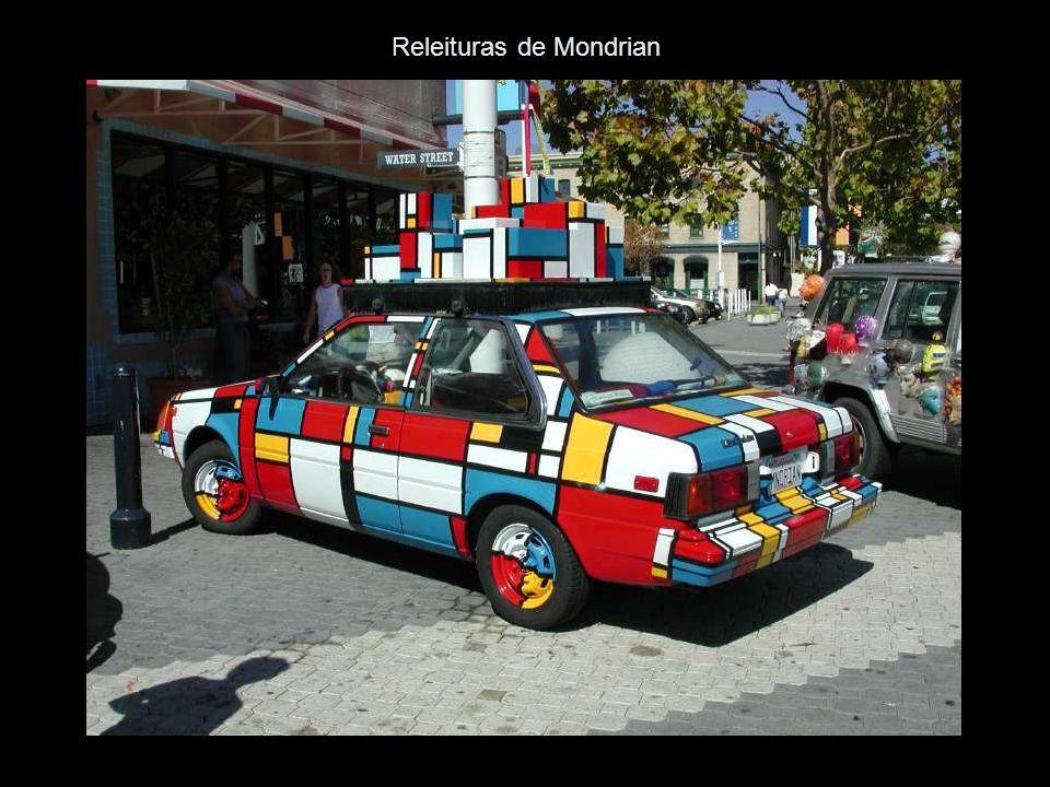 Releituras de Mondrian