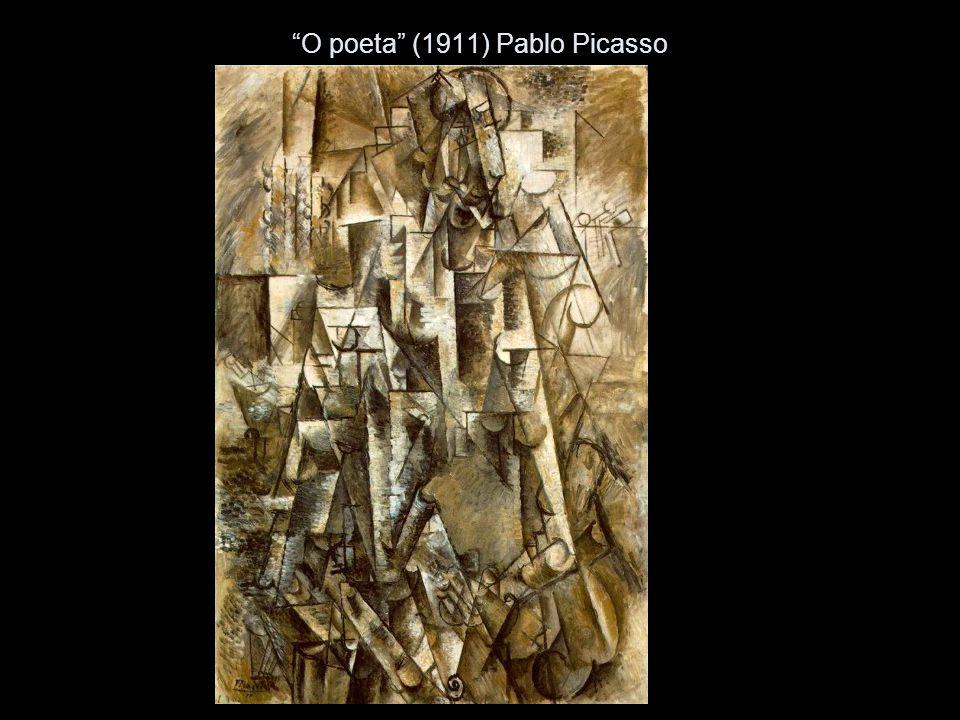 O poeta (1911) Pablo Picasso