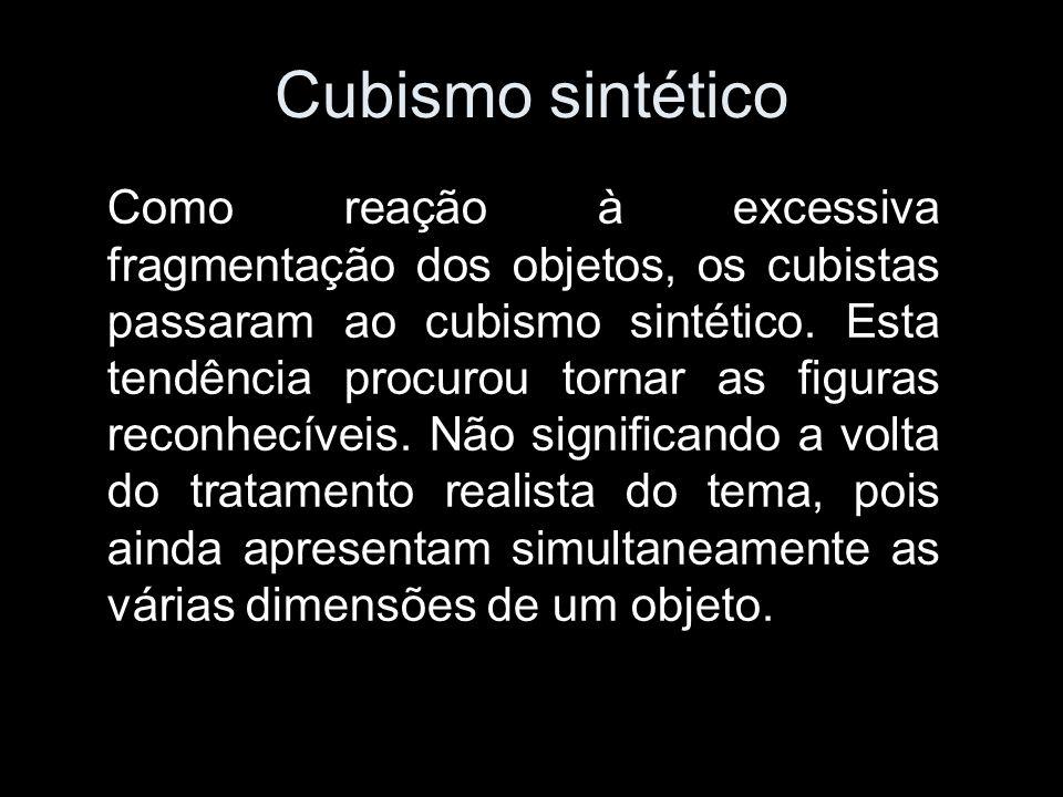 Cubismo sintético