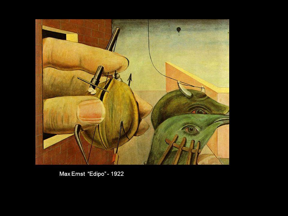 Max Ernst Edipo - 1922