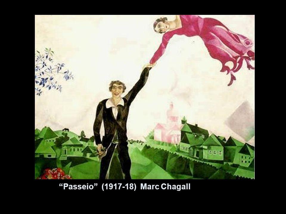 Passeio (1917-18) Marc Chagall