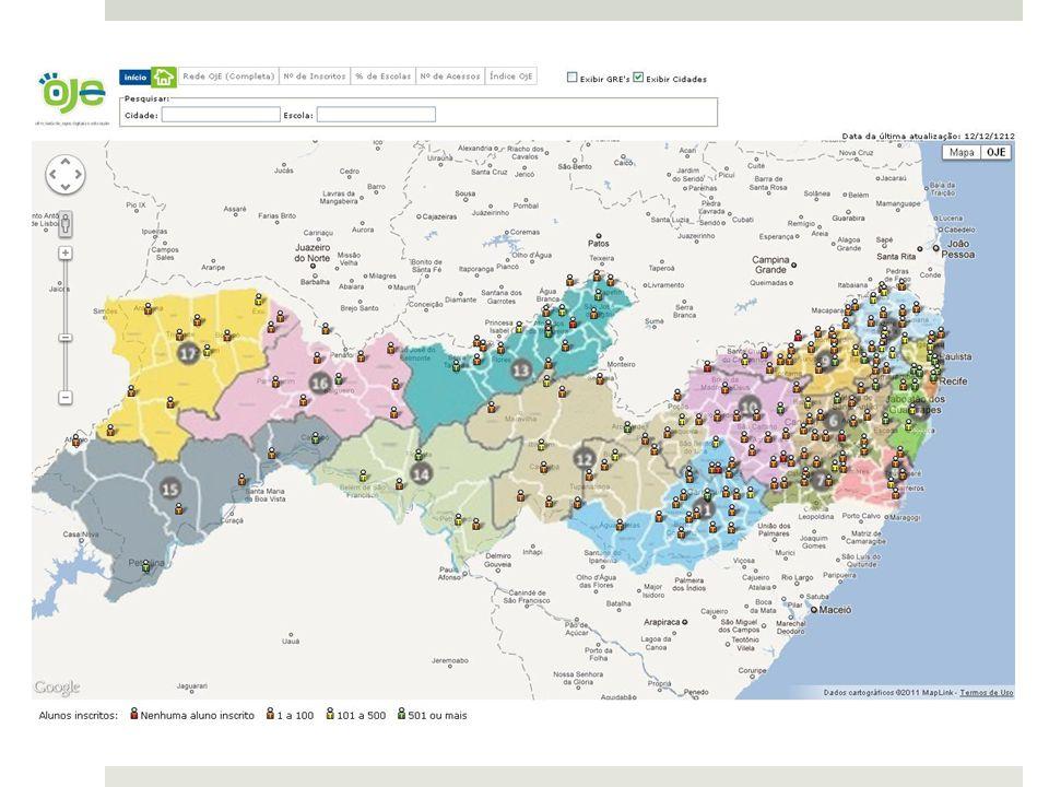 Telas com Mapa