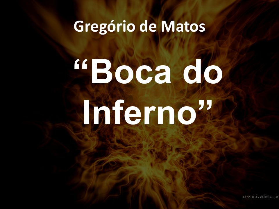 Gregório de Matos Boca do Inferno