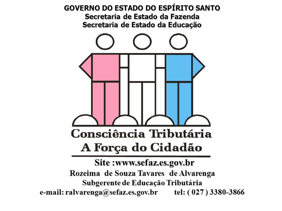 Site :www.sefaz.es.gov.br