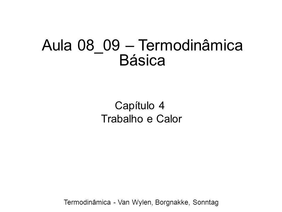 Aula 08_09 – Termodinâmica Básica