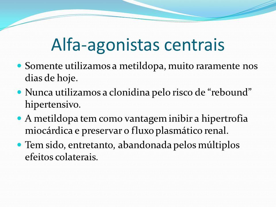 Alfa-agonistas centrais