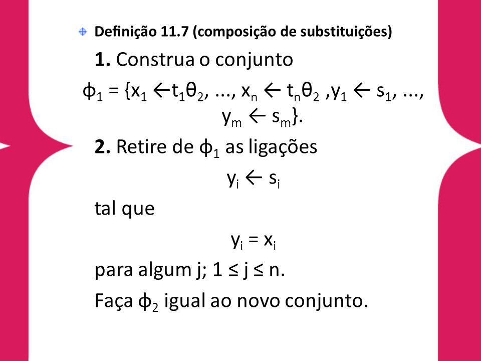 φ1 = {x1 ←t1θ2, ..., xn ← tnθ2 ,y1 ← s1, ..., ym ← sm}.
