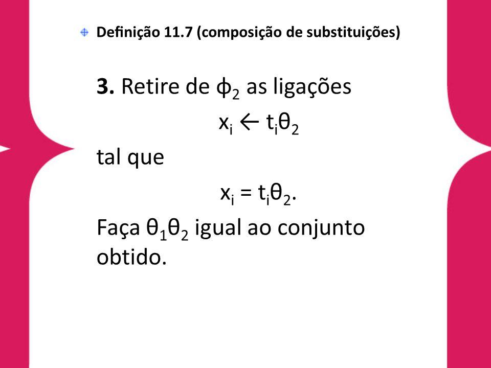 Faça θ1θ2 igual ao conjunto obtido.