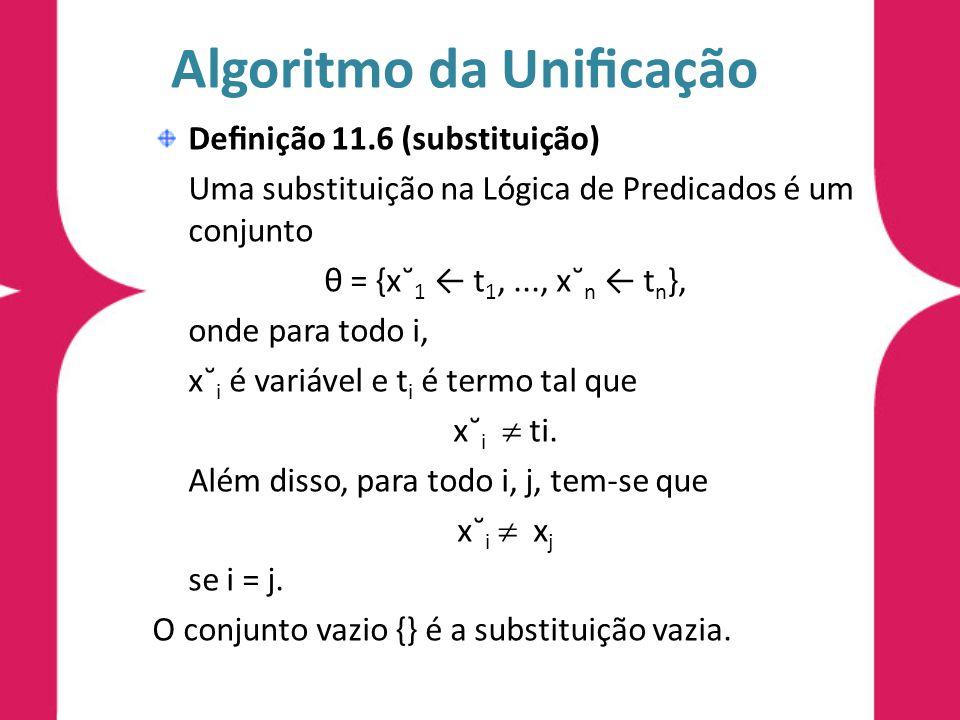 Algoritmo da Unificação