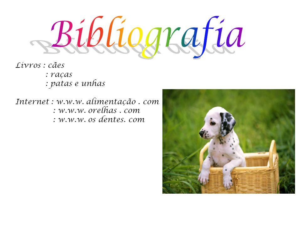 Bibliografia Livros : cães : raças : patas e unhas