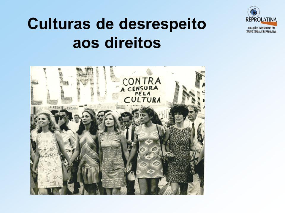 Culturas de desrespeito aos direitos
