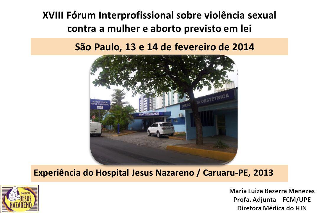 São Paulo, 13 e 14 de fevereiro de 2014
