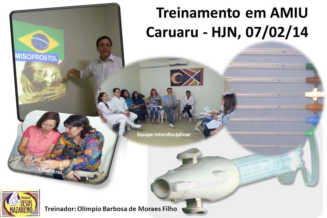 Treinamento em AMIU Caruaru - HJN, 07/02/14