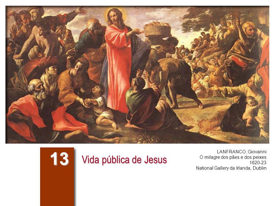 13 Vida pública de Jesus LANFRANCO, Giovanni